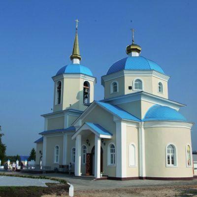 Храм апостолов Петра и Павла в селе Обуховка