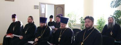 Собрание благочинных прошло в Валуйской епархии