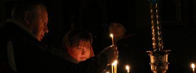 Первую в этом году Божественную литургию Преждеосвященных Даров совершил Епископ Губкинский
