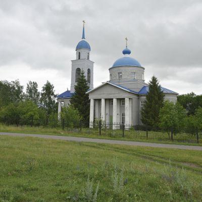 Храм Архистратига Михаила в селе Осколец