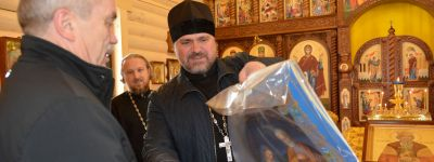 Белгородский губернатор посетил храм святого равноапостольного князя Владимира в Висленской дивизии в Валуйках