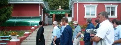 Белгородский губернатор посетил Борисовский Богородице-Тихвинский монастырь