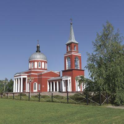 Храм Воскресения Христова в Хотмыжске