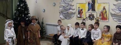 Совместный православный праздник провели в белгородском православном детском саду вместе с ребятами из «Забавы»