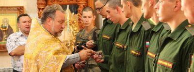 Казаки-новообранцы Висленской дивизии в Валуйках приняли присягу на верность Родине