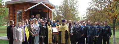 Молебен обо всех спасателях прошёл в Белгороде