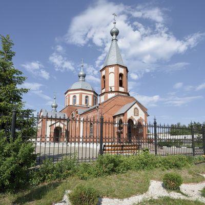 Храм Архистратига Божия Михаила в посёлке Маслова Пристань