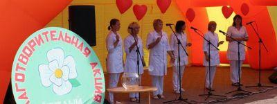 Благотворительную акцию «Белый цветок» организовали в Красном