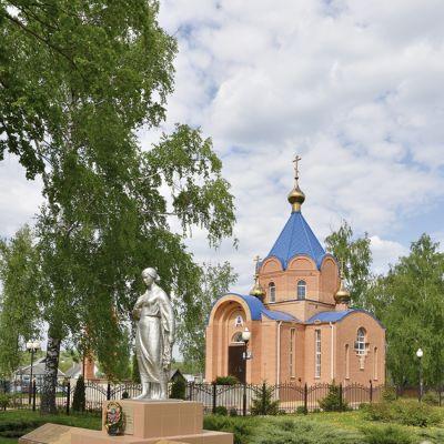 Храм Покрова Пресвятой Богородицы в селе Репяховка