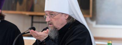 Заседание Учёного Совета Белгородской семинарии прошло под председательством белгородского митрополита