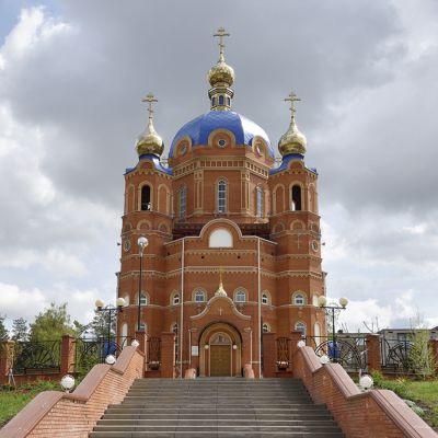 Храм в честь иконы Божией матери «Всех скорбящих Радость» в городе Шебекино
