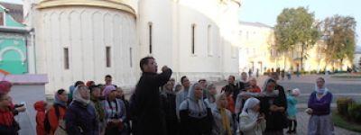 Ученики воскресной школы из Нового Оскола совершили паломническую поездку в Москву