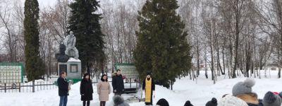 Заупокойную литию в честь воинов Красной Армии провели в Чуево в честь Дня освобождения