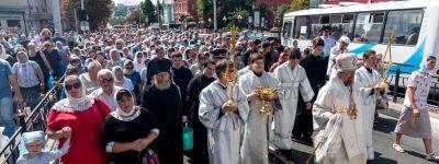 Престольный праздник отметили в Белгороде