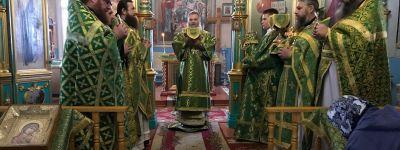 Епископ Валуйский совершил Божественную Литургию в храме в селе Стрелецкое