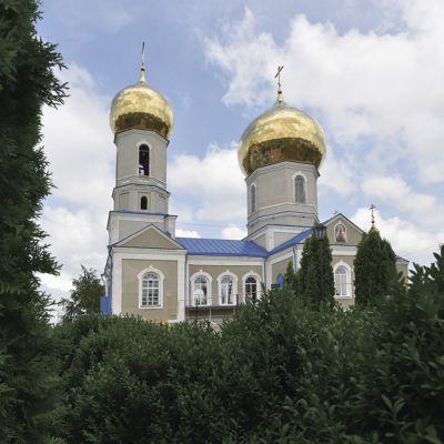 Храм Успения Пресвятой Богородицы в посёлке Чернянка