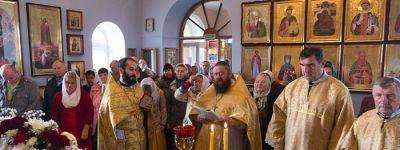 Престольный праздник отметили в селе Лапыгино