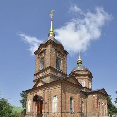 Храм святителя и чудотворца Николая в селе Незнамово