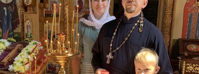 Молебен в честь Всемилостивого Спаса и Пресвятой Богородицы совершили в храме-часовне на Лебединском ГОКе