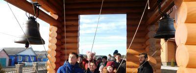 Ученики Шидловской школы побывали в новом храме в Волоконовке