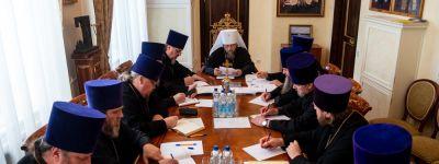 Заседание Епархиального Совета состоялось в Белгороде