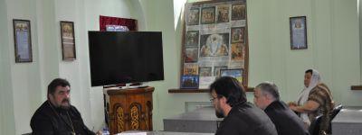 Организацию крестного хода в престольный праздник обсудили прихожане Спасо-Преображенского собора в Губкине