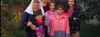 Валерия Внукова, воспитывающая одна пятерых детей, поблагодарила православных белгородцев за помощь в приобретении дома