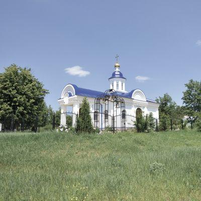 Храм Успения Пресвятой Богородицы в Луценково