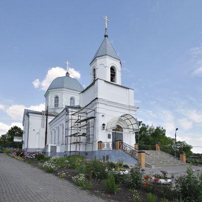 Храм Святителя Митрофания Воронежского в городе Бирюч