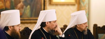 Белгородский митрополит принял участие в заседании  Высшего Церковного Совета, которое возглавил Святейший Патриарх