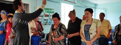 Молебен в Родинском Доме культуры совершили в Ровеньках