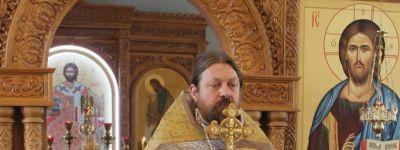 Воскресное богослужение в Неделю 16-ю по Пятидесятнице  провёл ректор Белгородской семинарии