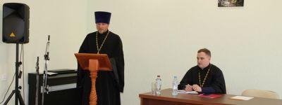 О «Проблемах патриотического воспитания в рамках приходской практики» рассказал грайворонский священник на епархиальной коллегии