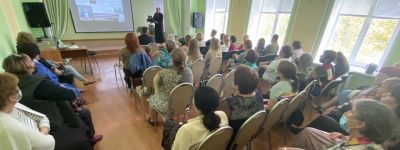 Встречу с профессором Свято-Троицкой духовной семинарии Русской зарубежной церкви, действующей в Джорданвилле, провели в Губкине
