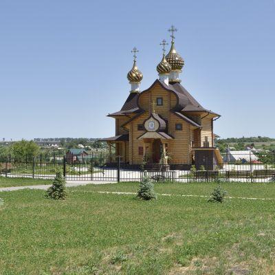 Храм святителя Димитрия Ростовского в селе Дмитриевка
